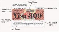 Visa 309
