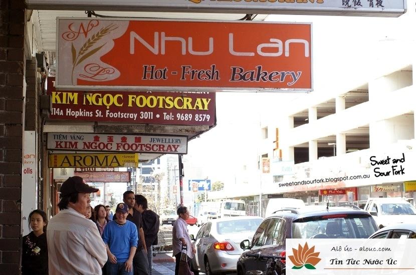 Tiệm Bánh Mỳ Như Lan - Một Tiệm bánh mỳ khá nổi tiếng ở Melbourne