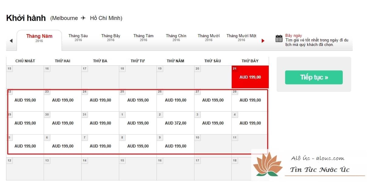 AirAsia tung giá vé khứ hồi đặc biệt siêu rẻ từ Úc về Việt Nam