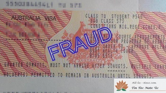 Visa giả