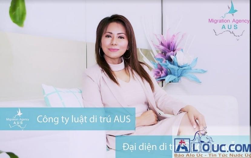 """Đào Nguyễn tốt nghiệp tại Victoria University về Hệ Thống Pháp Lý & Luật Di Trú Úc. Chị hiện đang là Đại Diện Di Trú, đồng thời là Giám đốc """"công ty luật di trú AUS''"""