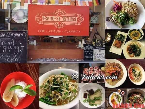 Nhà hàng Lentil as Anything - Địa chỉ chuyên phục vụ các món chay độc đáo nên đến một lần khi du lịch Sydney