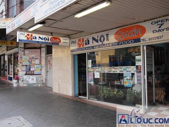 Hà Nội Quán: Một quán nhỏ ở Marrickville, gần station. Theo như mình cảm nhận thì khá ngon, đặc biệt là món cháo lòng