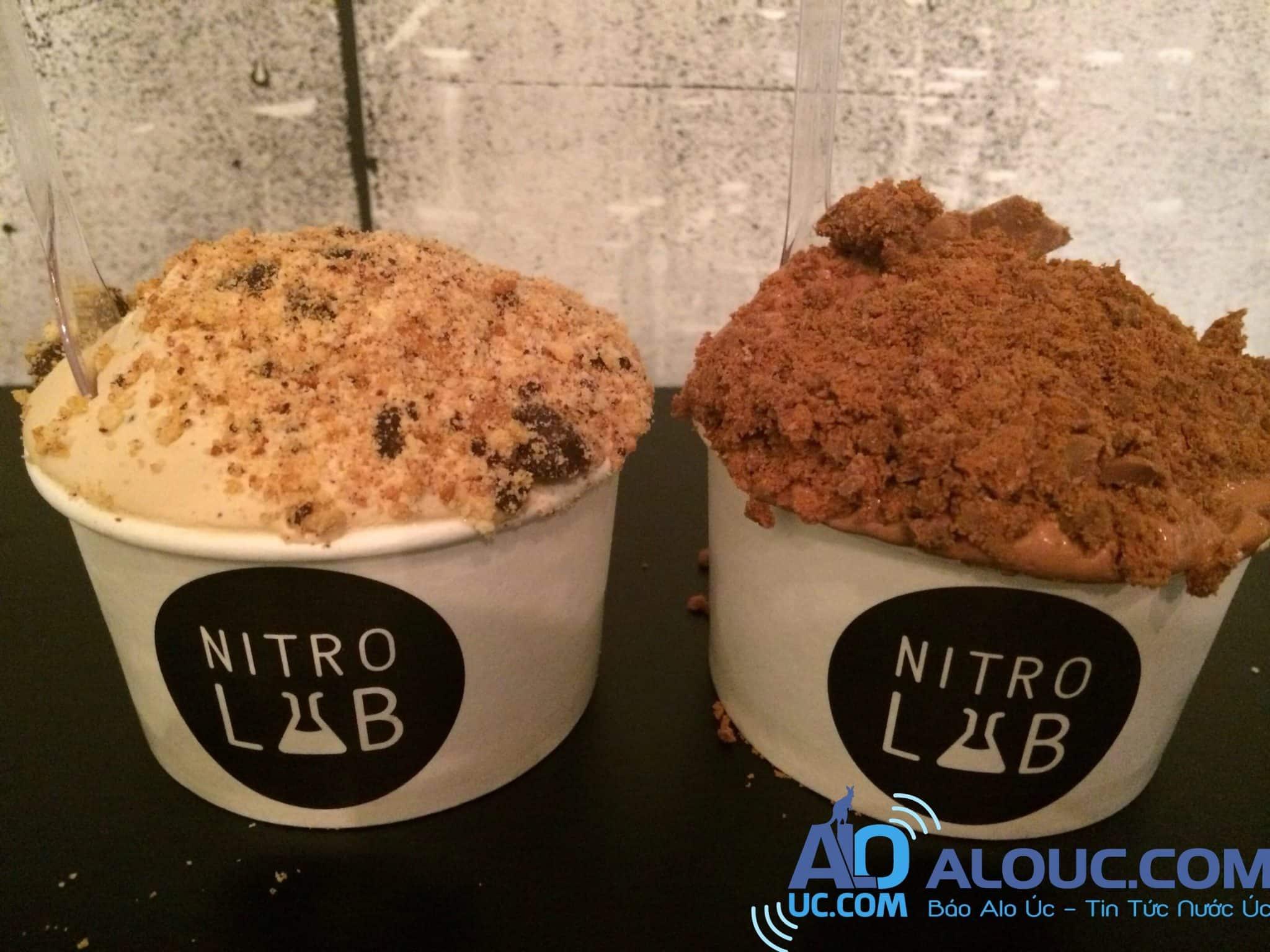 Kết quả hình ảnh cho nitro lab ice cream