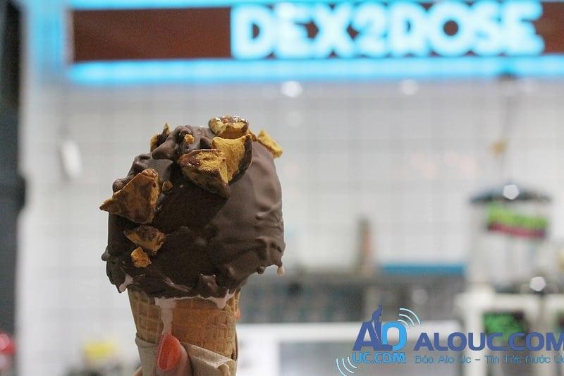Kết quả hình ảnh cho Dex2Rose ice cream
