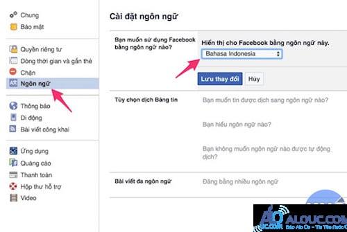 Thủ thuật đổi tên Facebook thành 1 chữ cực độc - 2