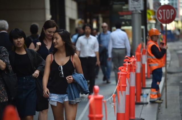 Hiện tại, có 95.758 người tại Australia đang có visa 457, nhiều nhất là người Ấn Độ, Anh và Trung Quốc. Ảnh: AFP.