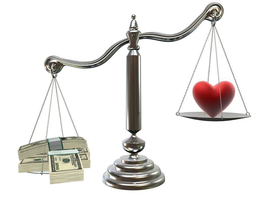 Kết quả hình ảnh cho tình yêu và vật chất