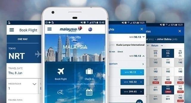 Những ứng dụng hãng hàng không mà bạn có thể tải về máy điện thoại của mình.