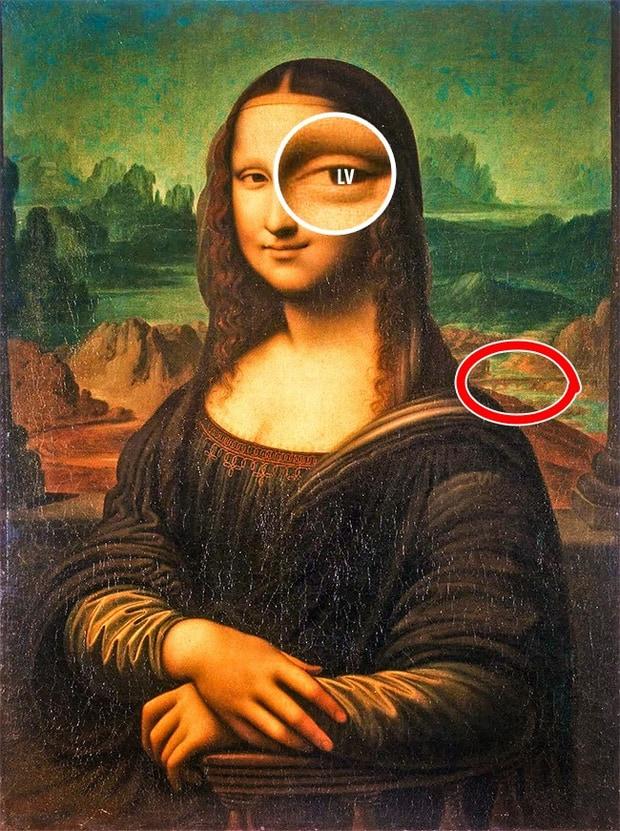 7 bí mật động trời được giấu trong những bức họa nổi tiếng - Ảnh 1.