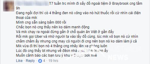 CẢNH BÁO: Hiểm họa trộm cướp đối với người Việt tại Sunshine và các khu vực khác ở Melbourne