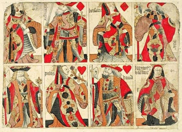 Lá K cơ là cách điệu của vua Charles VII nước Pháp