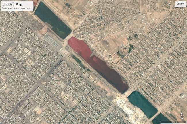 Những cảnh tượng bí ẩn vô tình lọt vào tầm ngắm của Google Earth - Ảnh 3.