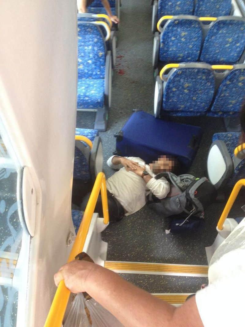 Sydney: Hình ảnh hiện trường vụ tàu đâm vào rào chắn: tàu bị hư hại, máu vương vãi khắp sàn - ảnh 5