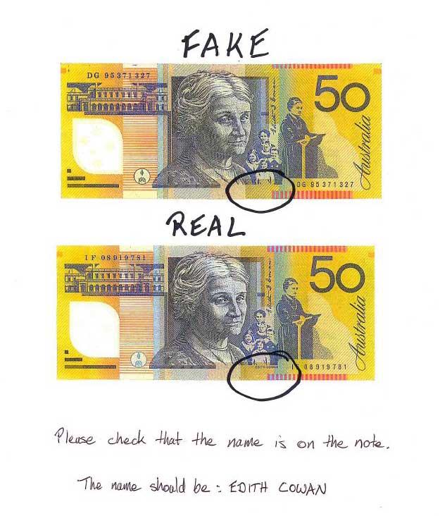Kết quả hình ảnh cho counterfeit money australia