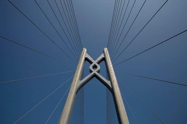 Trung Quốc mở cửa cầu trên biển dài nhất thế giới, nối Hongkong và Macau, dùng đến lượng thép đủ để xây 60 tháp Eiffel - Ảnh 7.