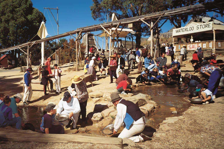 Thành phố Ballarat từng là mỏ vàng