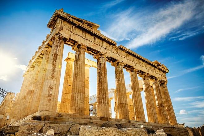 Đền Parthenon xịn