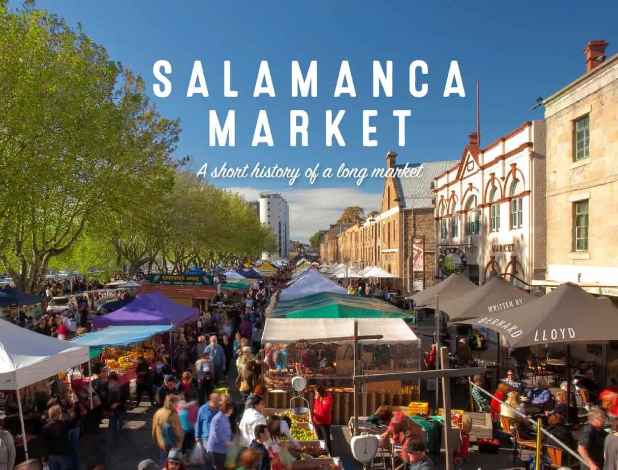 Chợ Salamanca ở Hobart
