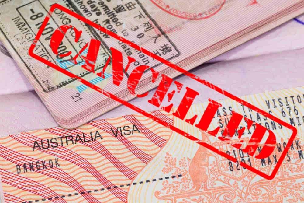 Bị từ chối visa Úc