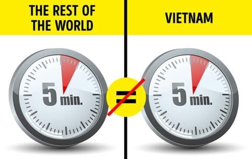 Nếu ở nước ngoài, việc đúng giờ là điều hiển nhiên, thì tại Việt Nam, điểm này có đôi chút khác biệt. Snezhana nhận ra rằng, khi ai đó nói với cô sẽ làm cái gì đó trong vòng 5 phút nữa, hoặc ngày mai, thì điều đó có thể đồng nghĩa với việc lời hứa sẽ bị trì hoãn vô thời hạn. Ảnh: Buzzfeed.