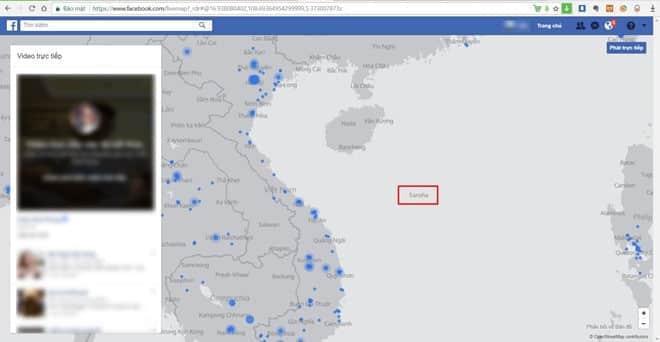 Facebook cung cap ban do sai lech ve chu quyen Hoang Sa - Truong Sa hinh anh 2