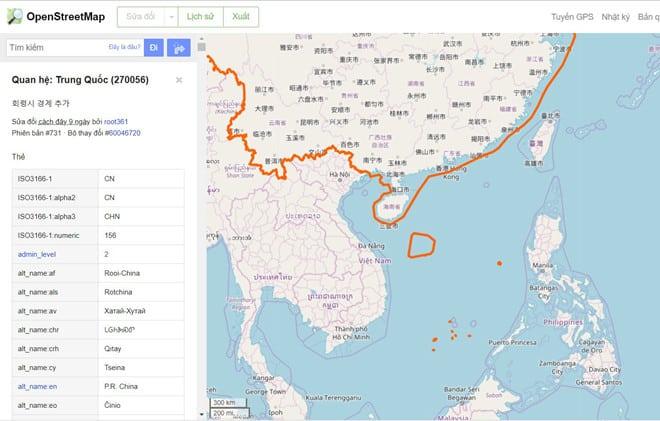 Facebook cung cap ban do sai lech ve chu quyen Hoang Sa - Truong Sa hinh anh 3
