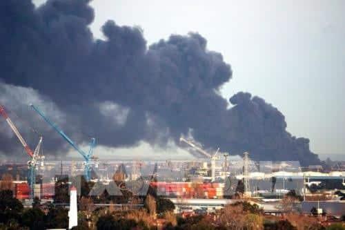 Thành phố Melbourne bị khói độc bao trùm - Ảnh 1.