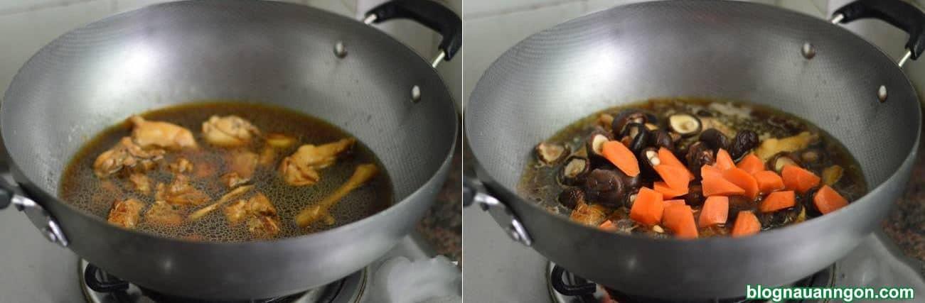 Ảnh minh họa 5 - Làm ngay món thịt gà kho nấm, cà rốt hấp dẫn, hao cơm cho cả nhà thưởng thức!