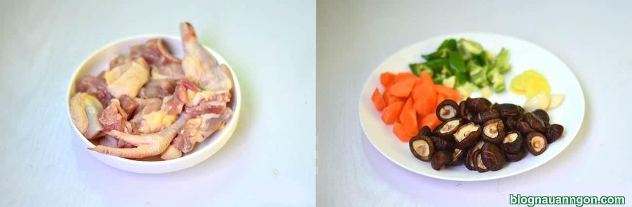 Ảnh minh họa 4 - Làm ngay món thịt gà kho nấm, cà rốt hấp dẫn, hao cơm cho cả nhà thưởng thức!