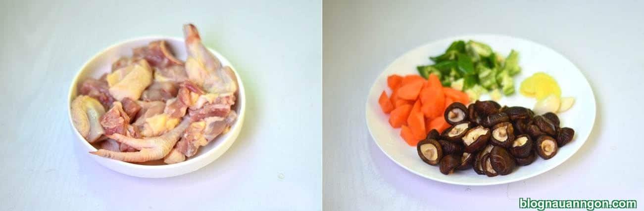 Ảnh minh họa 3 - Làm ngay món thịt gà kho nấm, cà rốt hấp dẫn, hao cơm cho cả nhà thưởng thức!