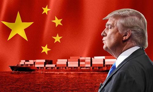 Trump đã ra lệnh áp thuế với khoảng 200 tỷ USD hàng hóa Trung Quốc và đe dọa áp thêm thuế với 267 tỷ hàng nhập khẩu từ nước này. Ảnh: CNN.