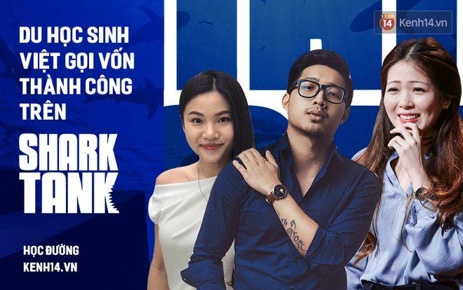 Du học sinh về nước gọi vốn thành công hàng trăm nghìn USD trên Shark Tank Việt Nam: Toàn trai xinh gái đẹp, tài giỏi hết phần người khác - Ảnh 1.