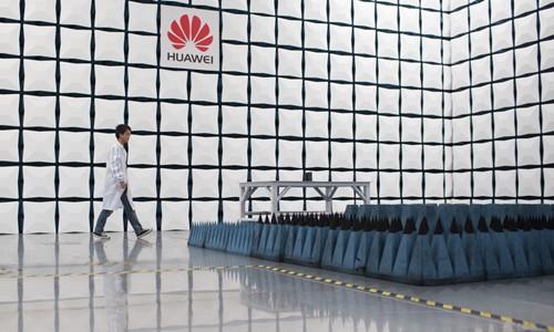 Bên trong trụ sở của Huawei tại Trung Quốc. Ảnh: Bloomberg