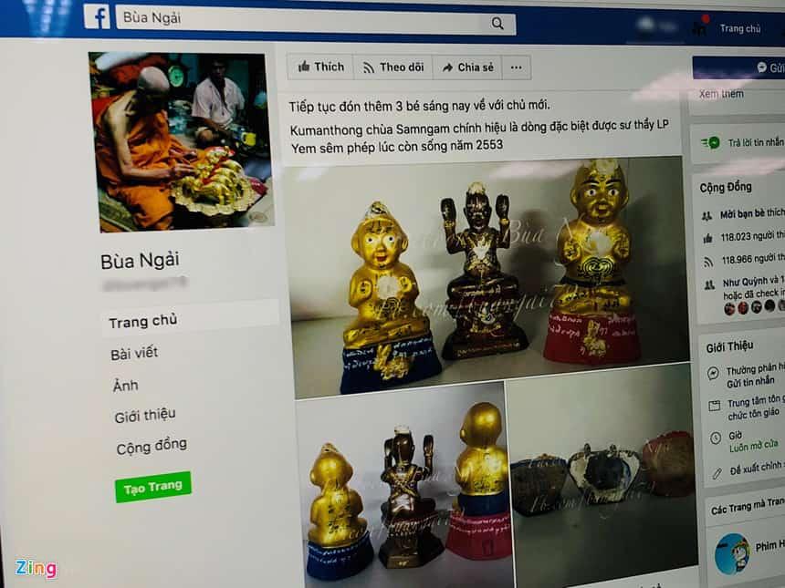 Facebook tiep tay cho quang cao me tin di doan o VN hinh anh 3