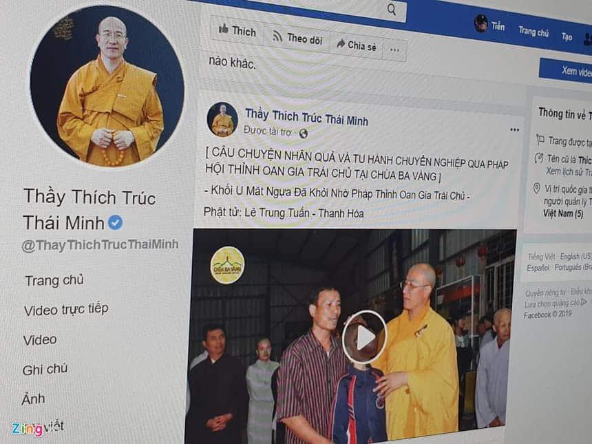 Facebook tiep tay cho quang cao me tin di doan o VN hinh anh 1