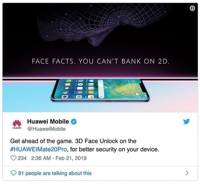 Huawei đặt biển quảng cáo P30 Pro ngay trên nóc cửa hàng Samsung tại Úc - Ảnh 2.