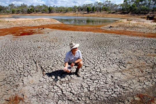 Biến đổi khí hậu đe dọa hòa bình thế giới - Ảnh 1.
