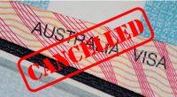 Làm thế nào khi visa Úc bị hủy