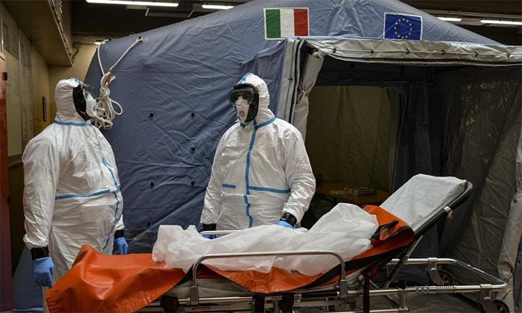 Các nước châu Âu đang nỗ lực để phòng, chống dịchCovid-19.(Ảnh minh họa: AP)