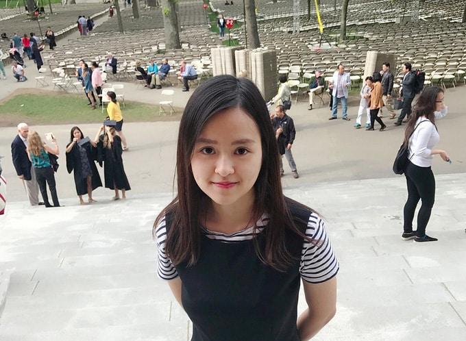 Cô gái Việt ở Harvard đòi công lý cho sinh viên quốc tế - Ảnh 1.
