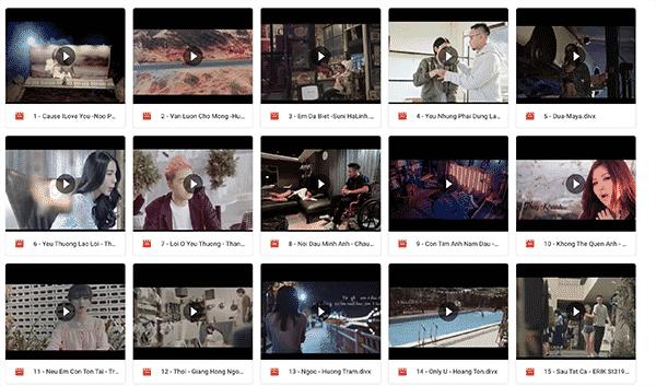 Kho nhạc mp3 - Kho video ca nhạc